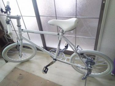 ミニベロ シマノ6段変速クロスバイク 20インチ(21Technology)をいただきました☆