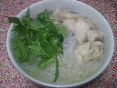 ベトナムの麺料理 フォー(ライスヌードル)を初めて食べてみました☆